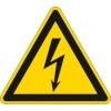 Warnschilder für den Elektrobereich
