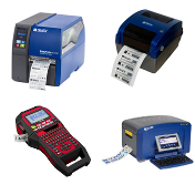 Etikettendrucker im Logistikbereich