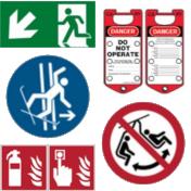 Sicherheitskennzeichnung / Schilder