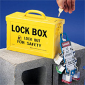 Lock Boxes, Boards, Bags (filled and empty)