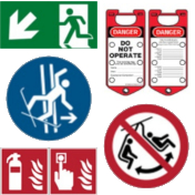 Security Marking / Signs